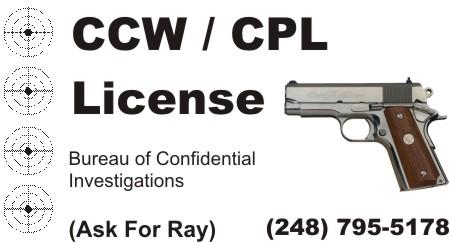 CCW CPL Classes Michigan